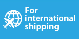 For international shipping